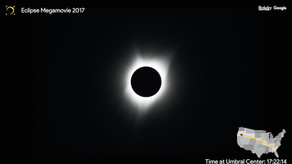 Watch Google's 2.5-min 'eclipse megamovie' of the 2017 spectacle cross-continent https://t.co/xawLdKjzyn