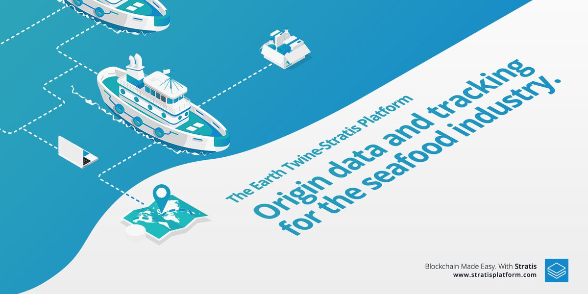 World's first seafood dedicated #BlockChain #Stratis and #EarthTwine  https:// stratisplatform.com/2017/08/17/wor lds_first_seafood_dedicated_blockchain/ &nbsp; …  #DotNetCore $STRAT #CryptoCurrency<br>http://pic.twitter.com/F5rRwqnBVP
