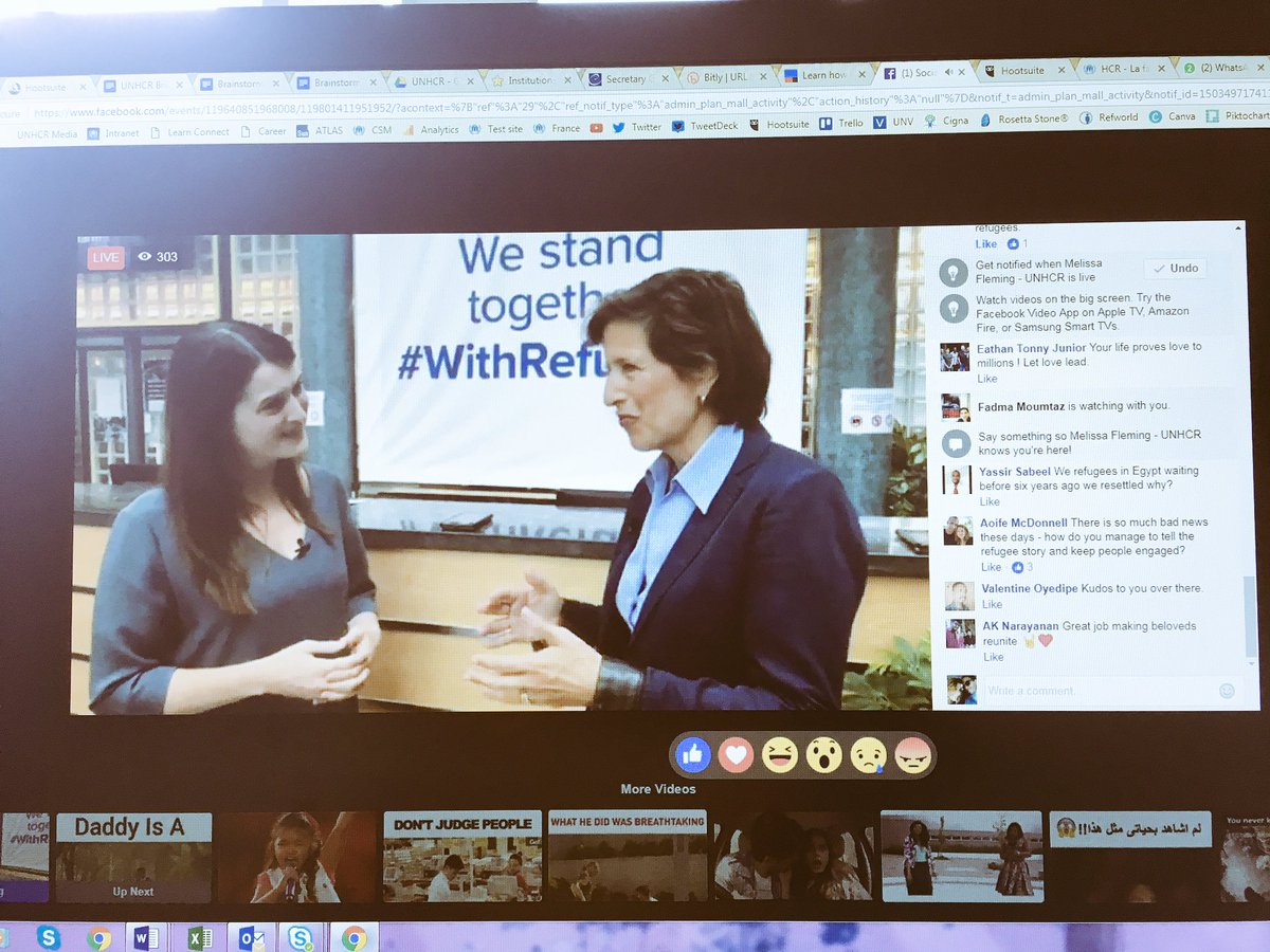 &quot;Before social media, there was no way to speak with the same amount of passion.&quot; UNHCR on social media for #refugees <br>http://pic.twitter.com/w361rPm7OL