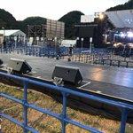 #美浜海遊祭 #ステージ #およよ #2つ ?当選ハガキが届いた皆様と、堤防から観てくださるの皆様と…