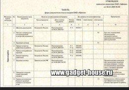 Пример заполнения заявления по косвенным налогам