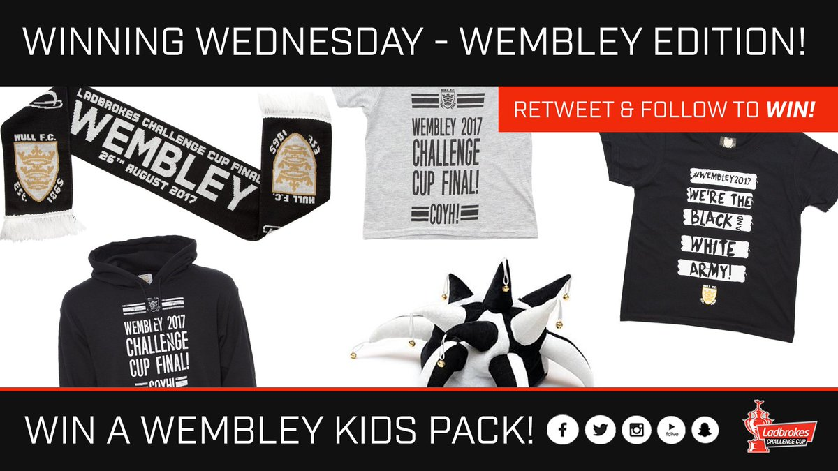 1e806c8351c #winningWednesday - make sure your kid is ready for Wembley by following us  & retweeting this tweet for a chance to win a Wembley kids  pack!pic.twitter.com/ ...