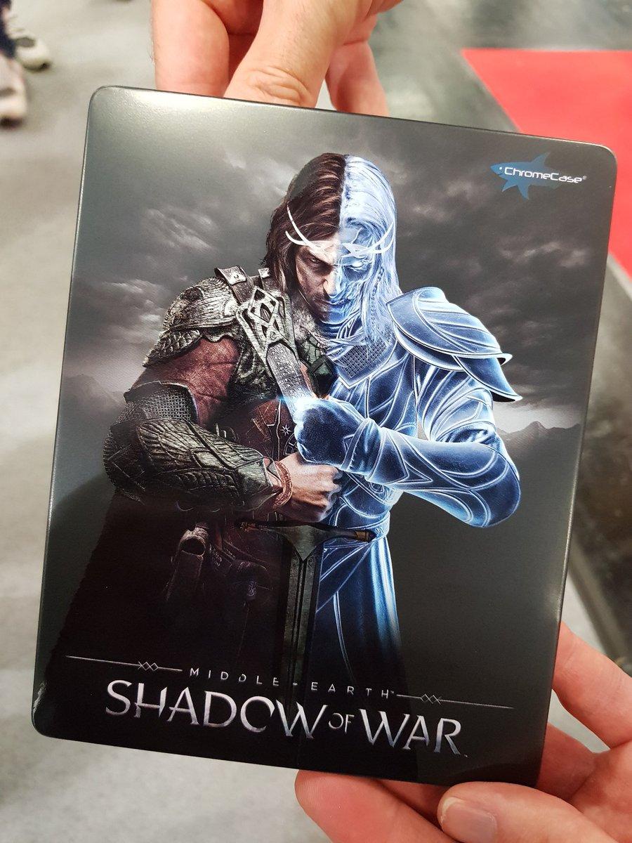 Rt + Follow pour gagner un novobox #shadowofwar numéroté par @NbxCollectibles   TAS 30/08 2350 #GC2017 #concours https://t.co/XJk7j0pUK4