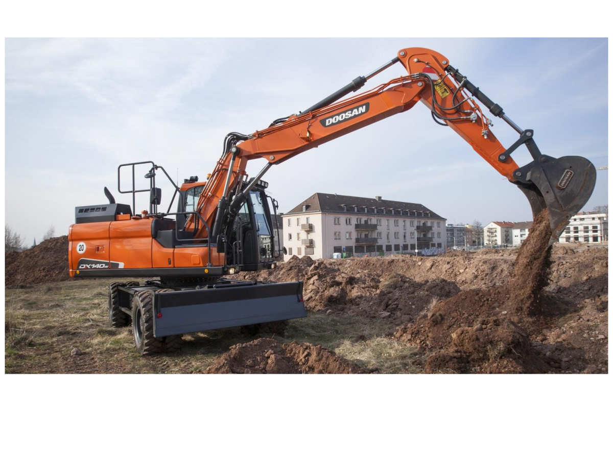 The DX140W-5 takes heaviest tasks in its stride with #efficient, dependable #performance that saves you time&amp;money!  https:// goo.gl/mus7ox  &nbsp;  <br>http://pic.twitter.com/NSOSiH9Y45