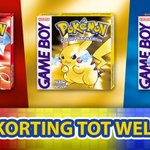 Pokémon Red, Blue & Yellow t/m 4 september in de aanbieding in Nintendo 3DS eShop. 36% korting met Nintendo-account. https://t.co/8cNnM9CPep