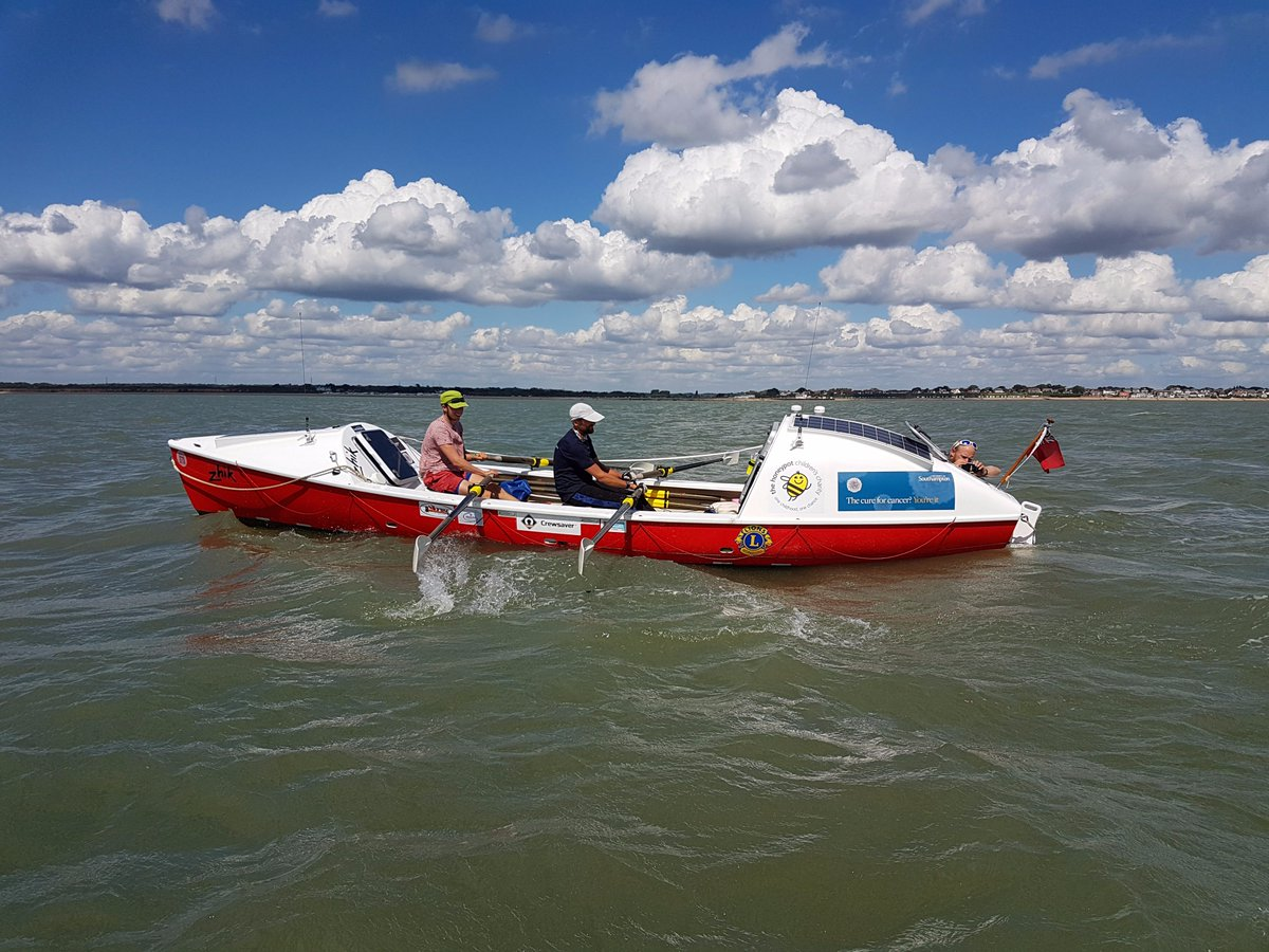 test Twitter Media - Huge congratulations to @islandvoyagers who rowed non-stop & unassisted around Britain in aid of the @CCI_UoS and @Honeypotcharity #YoureIt https://t.co/8wj30V5u7Y