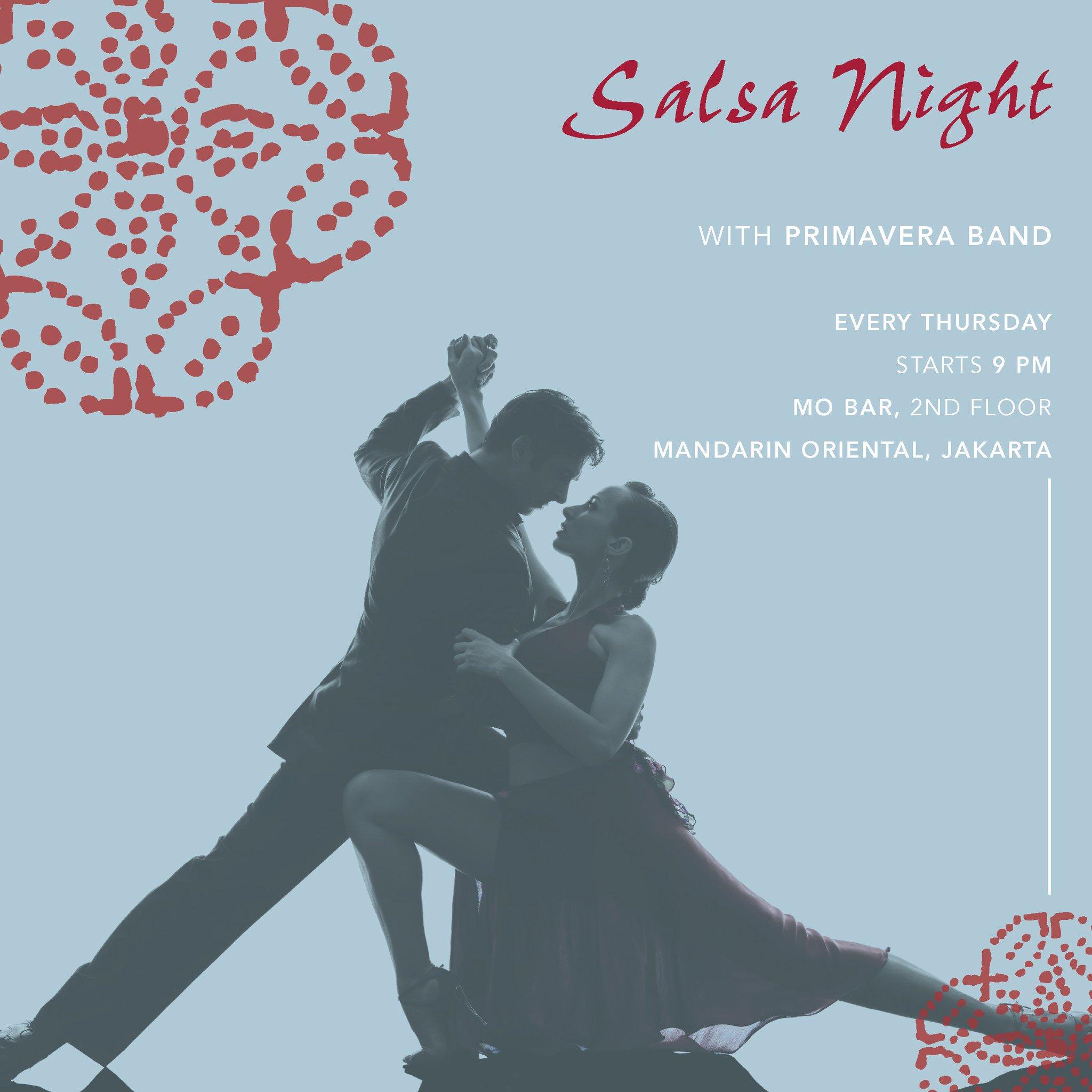 Dating in de salsa scene