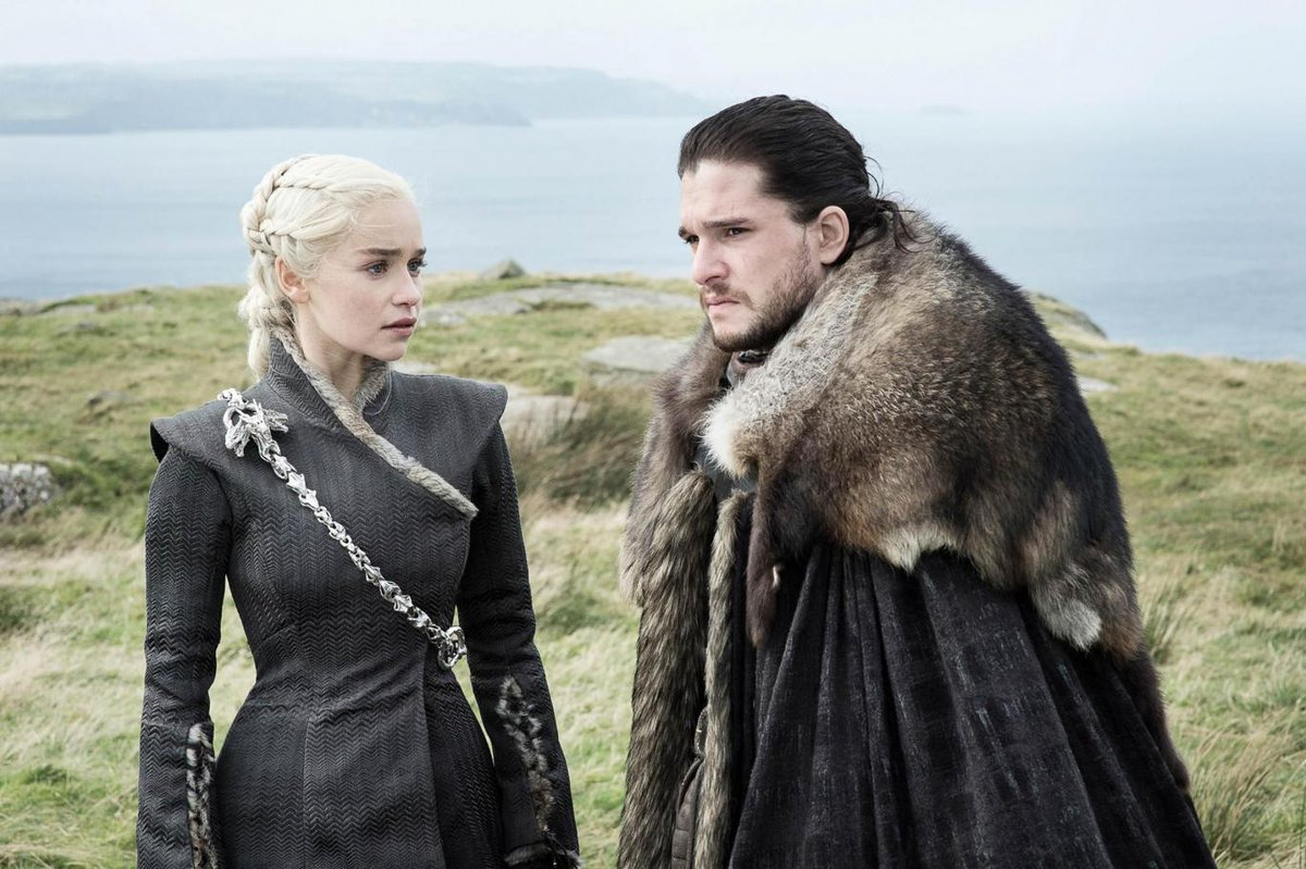 What George RR Martin told director about Jon Snow and Daenerys back in Season 1 https://t.co/SknG3KJhIW