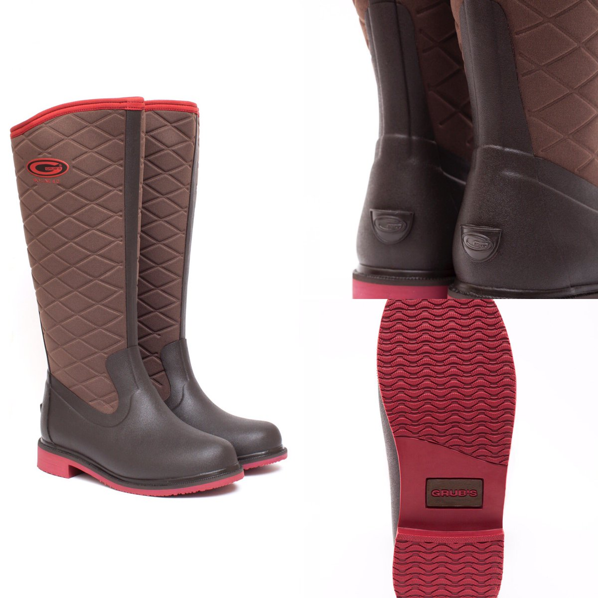Our #Skyline a stylish equine boot! Shown in mahogany &amp; rosewood. Perfect for the yard &amp; in the stirrup! #comfort #grip #warm #waterproof <br>http://pic.twitter.com/XgKOio2liP