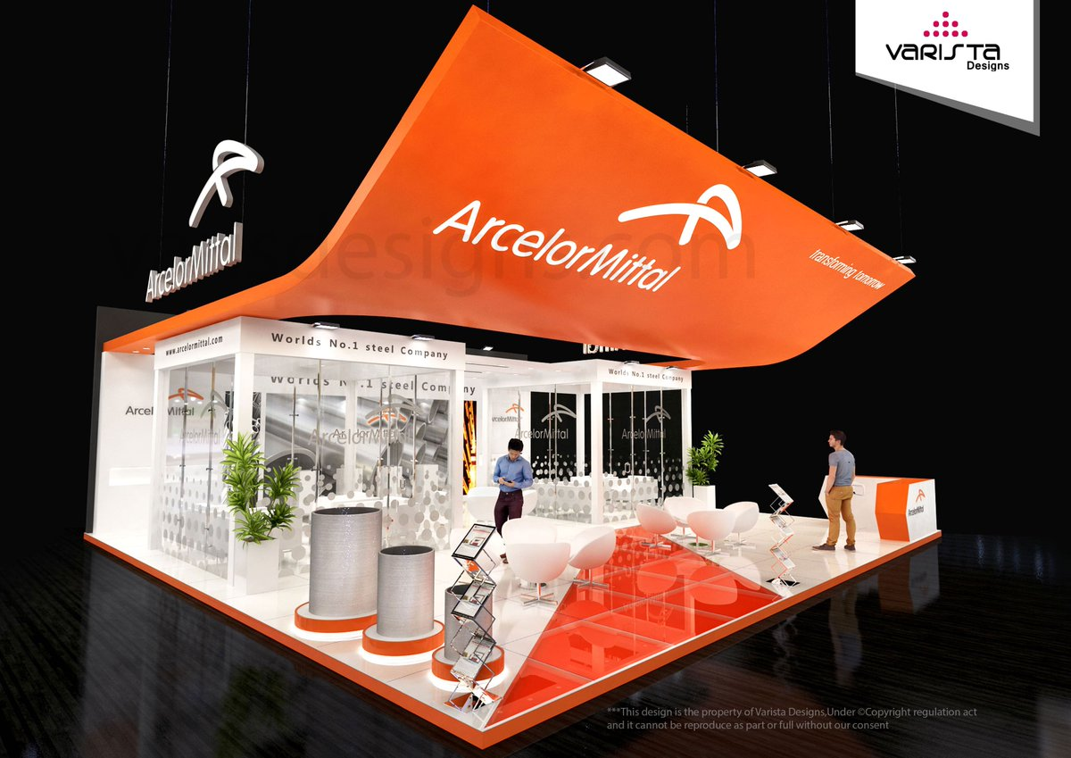 Exhibition Stand Proposal : Proposal robe di kappa exhibition stand on behance
