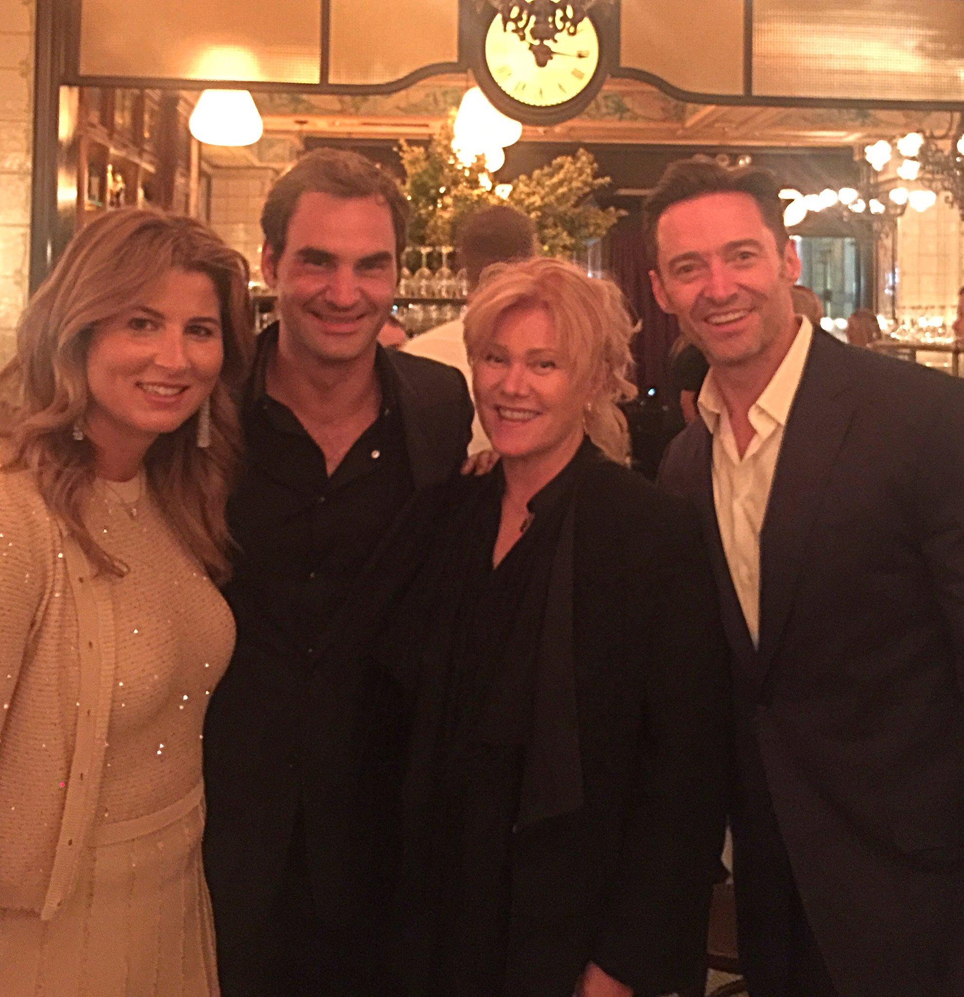 Awesome night celebrating @rogerfederer ! @Deborra_lee https://t.co/BnkdA9Gxov