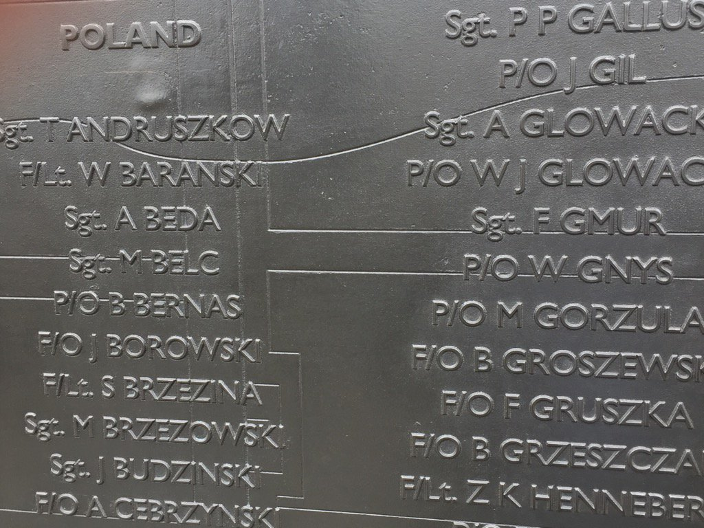Polish, French, Czech, Irish & Belgian pilots make London's Battle of Britain monument a Brexiteer's nightmare