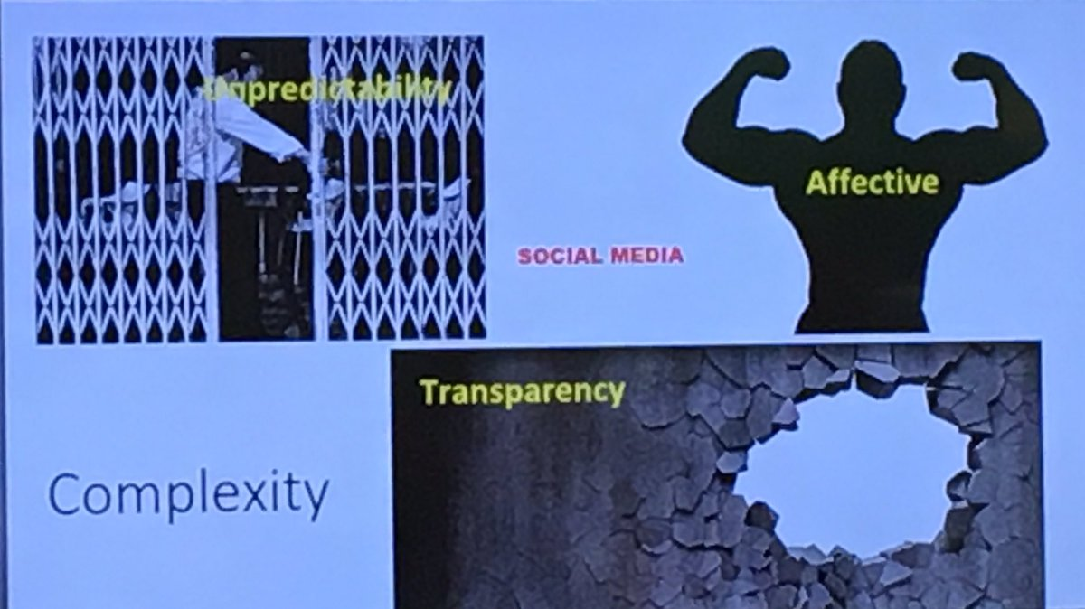 #socialmedia puncture holes in organizations walls adding #trasparency @Jalonen #evalue<br>http://pic.twitter.com/1mTXcCLbiJ