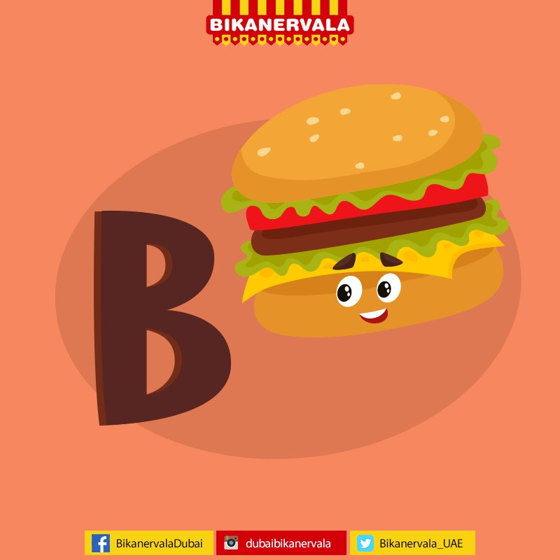 Image result for letter B hamburger