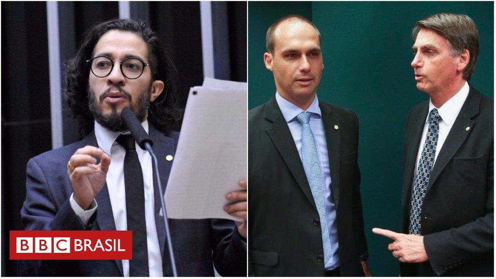 Em meio à Lava Jato, trocas de ofensas entre Jean Wyllys e família Bolsonaro dominam Conselho de Ética https://t.co/DC6OQgm1p4
