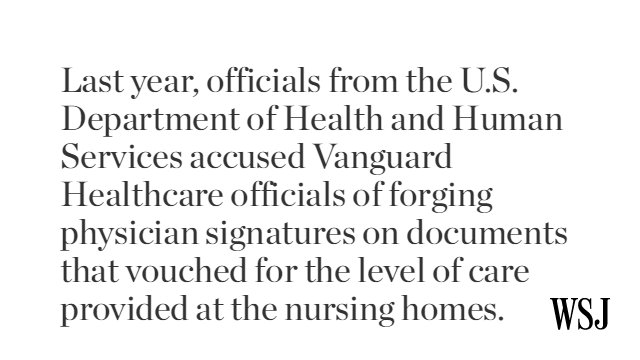 Its bankrupt owner accused of poor patient care, a Florida nursing home is looking for buyers https://t.co/WBXe3hUIZi via @KatyStech