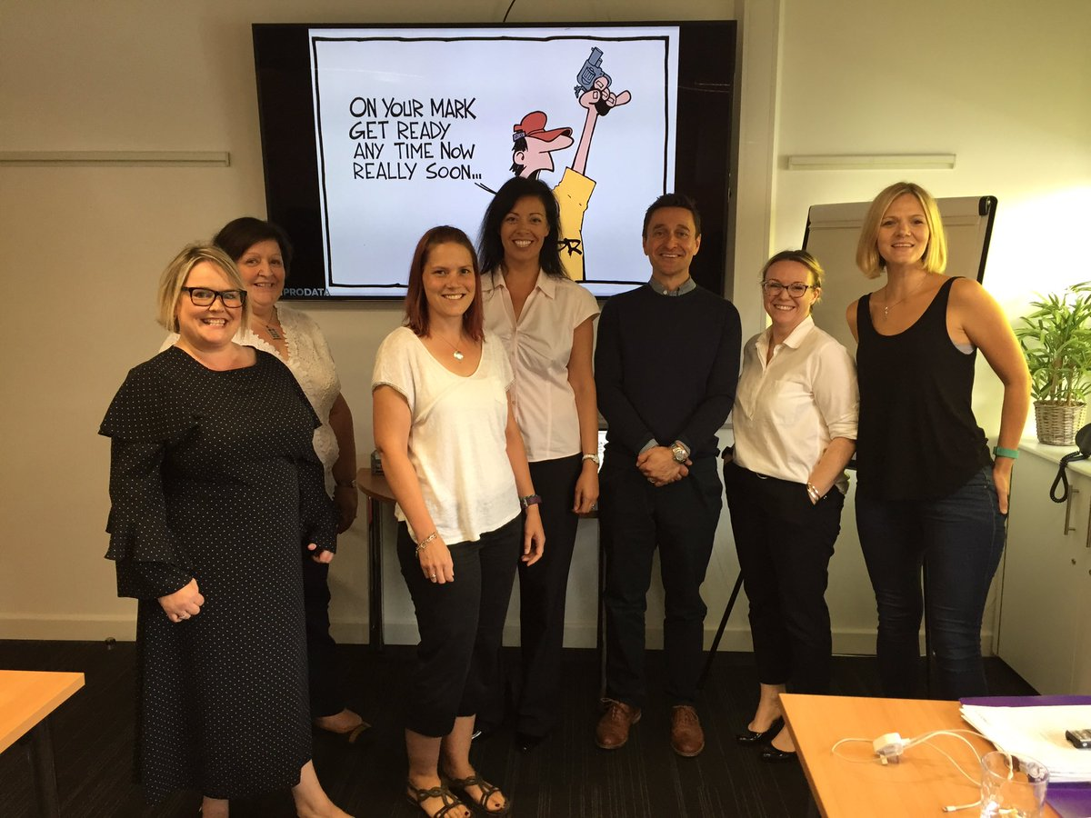 Thanks for attending @121prodataLtd #GDPR #workshop @marketing_hat @CloverleafBD @LoxleyBiz @OomphChristine - great to see you all.<br>http://pic.twitter.com/whDYo2XF2l