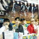 #MONSTA_X日本2ndシングル『Beautiful』が遂に発売されました~🙌🌹今日はタワーレコ…