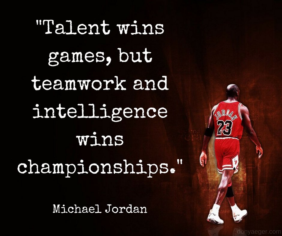 Don Yaeger On Twitter Talent Wins Games But Teamwork And