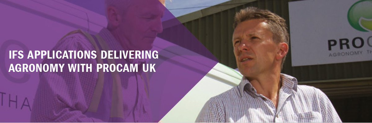 IFS Applications delivering agronomy with @ProCamUK - specialist #agronomy &amp; #crop production company #ERP  http://www. ifsworld.com/uk/sitecore/me dia-library/assets/2017/08/17/uk-procam-customer-story/ &nbsp; … <br>http://pic.twitter.com/A414H8XWxC