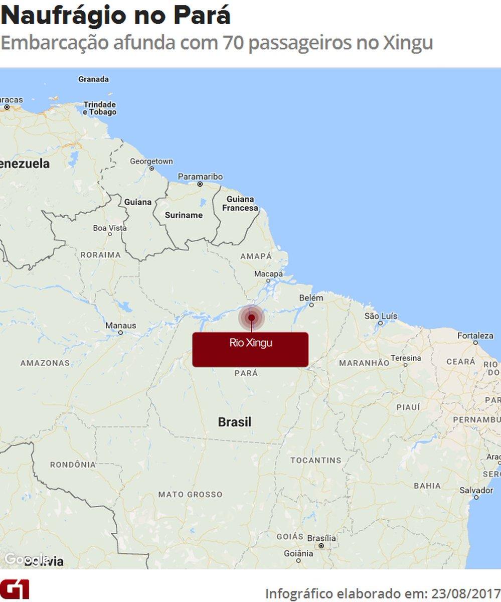 Naufrágio de navio com 70 pessoas a bordo deixa 7 mortos no Pará https://t.co/3HEbwgTJYv #G1