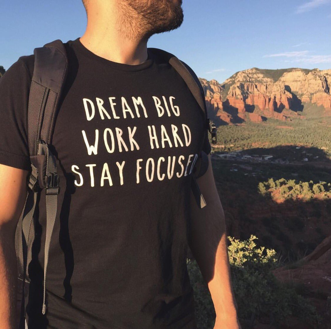 Don&#39;t be afraid to dream BIG and work HARD. The key is to stay focused. #StayHumble #StayHungry #DrivenByEternity #FullyAlive<br>http://pic.twitter.com/papjSHSywK