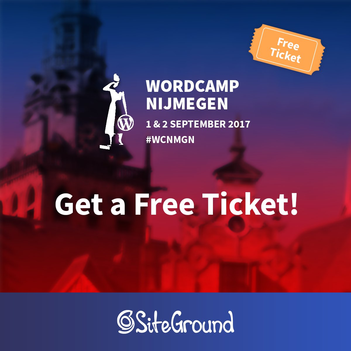 test Twitter Media - Win free @WordCampNmgn ticket by entering our giveaway. Tell us why you want to go by 25 August at events at siteground dot com.  #wcnmgn https://t.co/0qWb5PRVSc