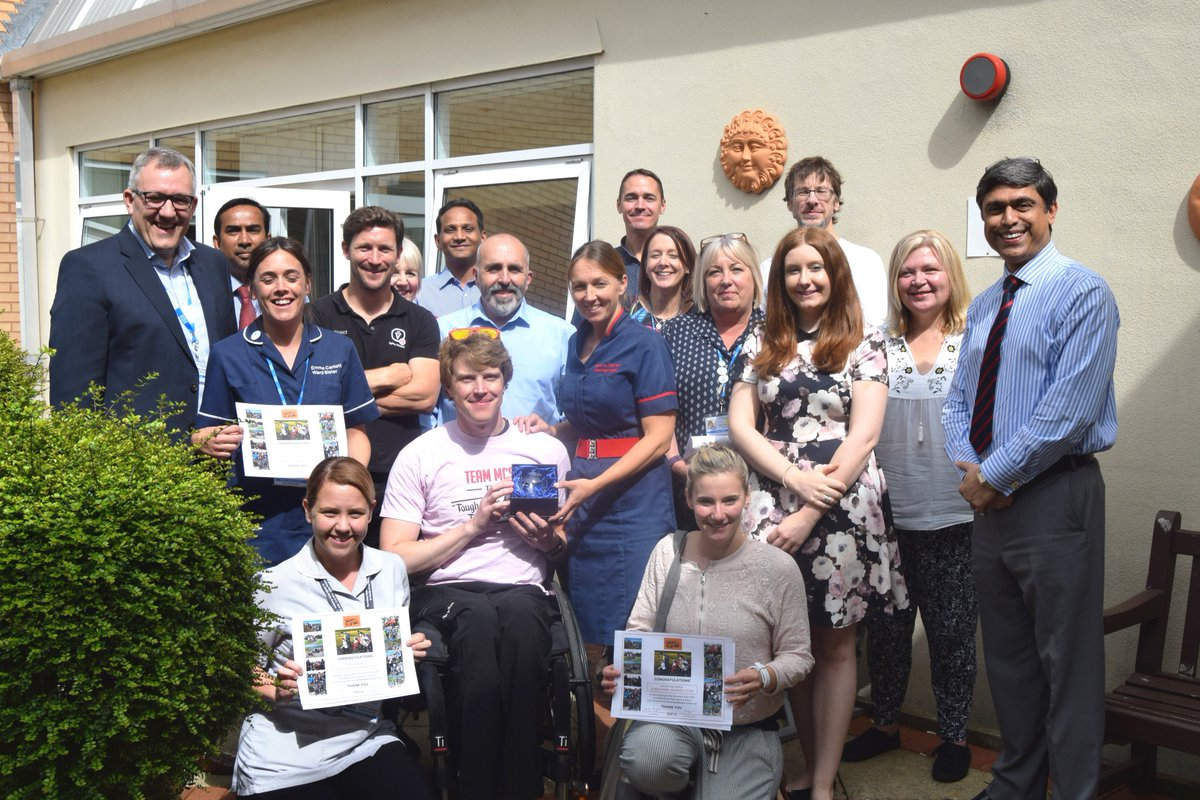 Team RJAH have today been presented with a trophy from @backuptrust for taking part in the Snowdon Push in July &amp; raising £2,494.45! #proud <br>http://pic.twitter.com/vuTYIDcp3r