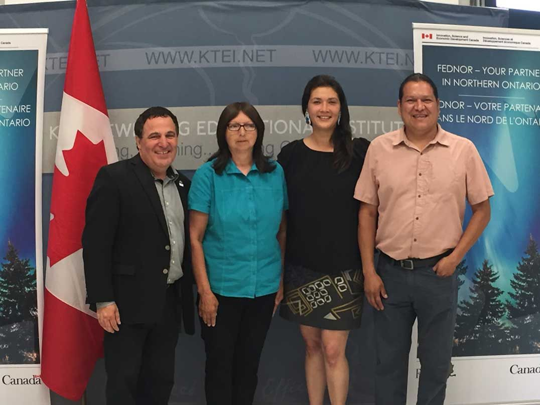 Canadian gov't invests $712,572 in business centre supporting Northern Ontario Indigenous #entrepreneurs  https:// buff.ly/2whu3vh  &nbsp;  <br>http://pic.twitter.com/Tbyi9HBi14