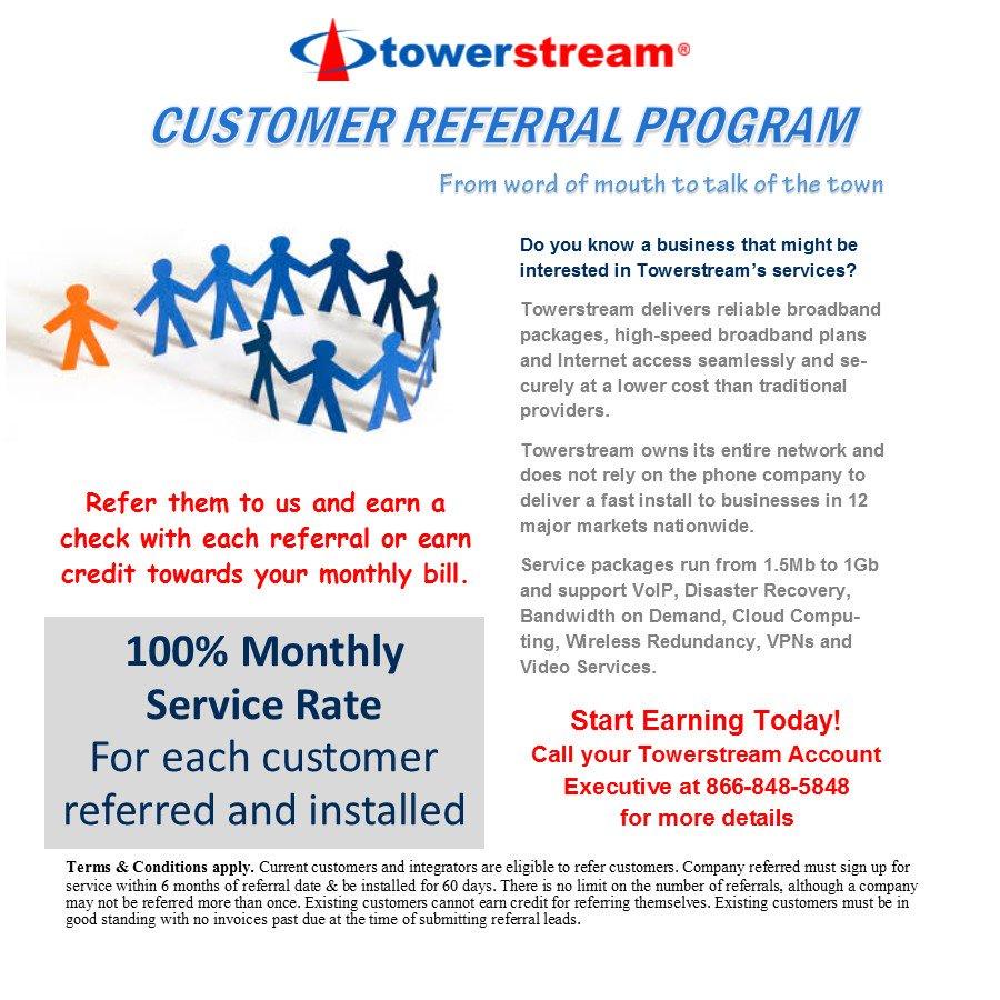 Towerstream Corp  on Twitter: