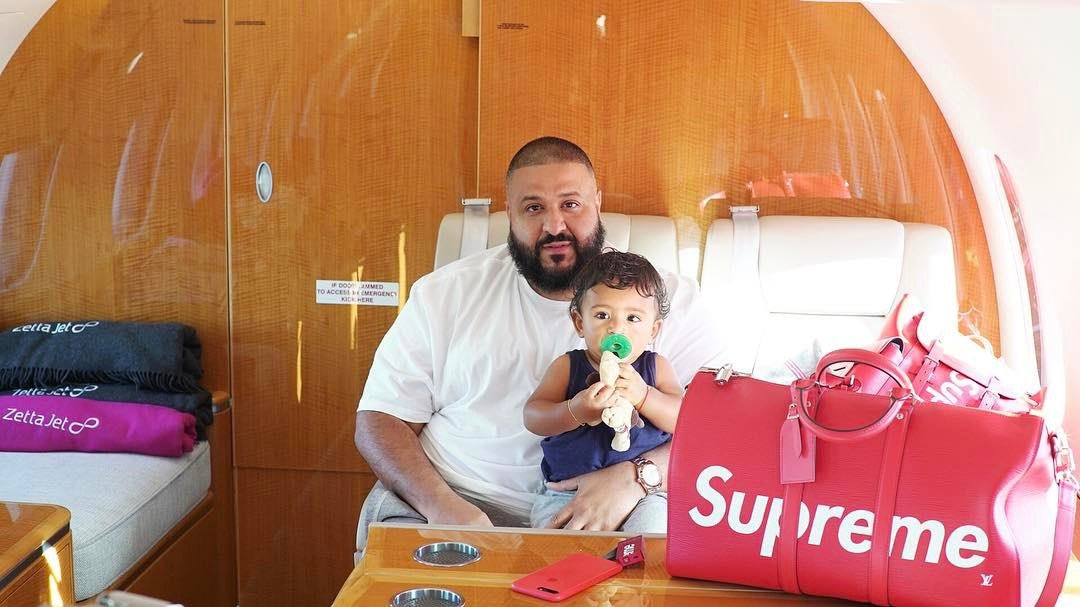 Watch DJ Khaled tackle his fear of flying + take first flight in 10+ years: https://t.co/XSot8nn0Q3