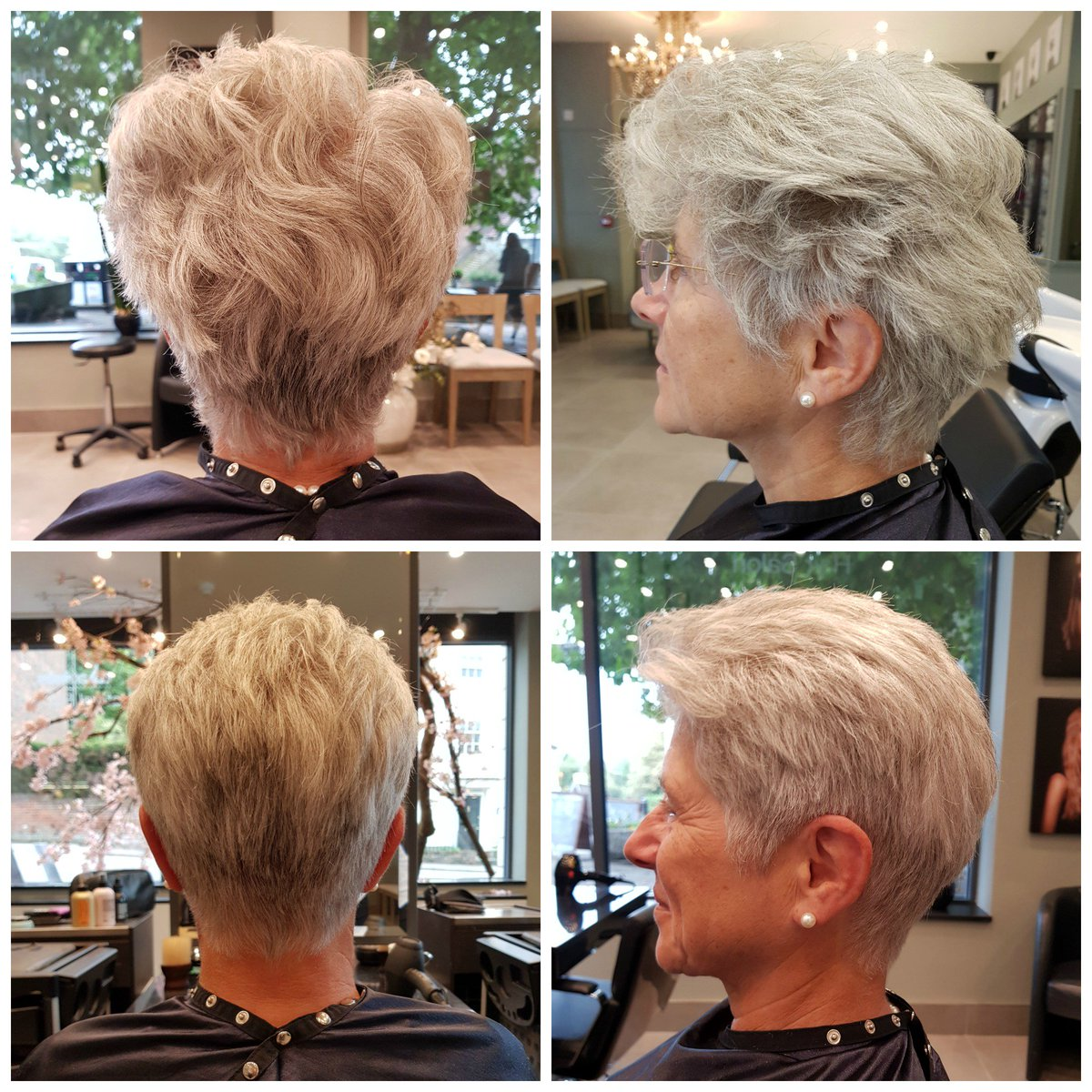 Julia Lampard Salon On Twitter Before And After Short Hair Cut