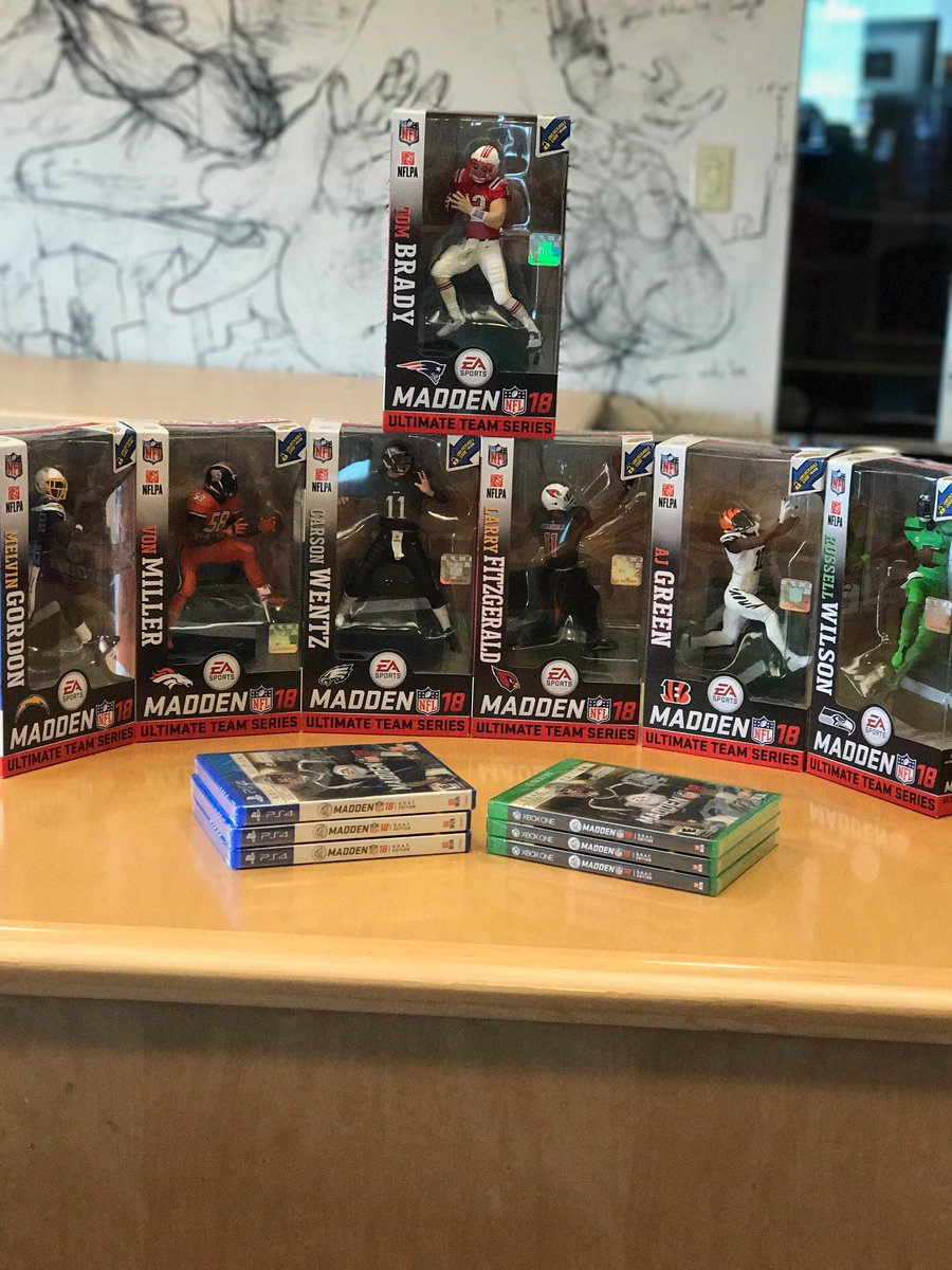6907029fe8b  Madden18 + New McFarlane Series 1 Figures! RT for a chance to win the full  set + games!pic.twitter.com KfmBg5IGeE