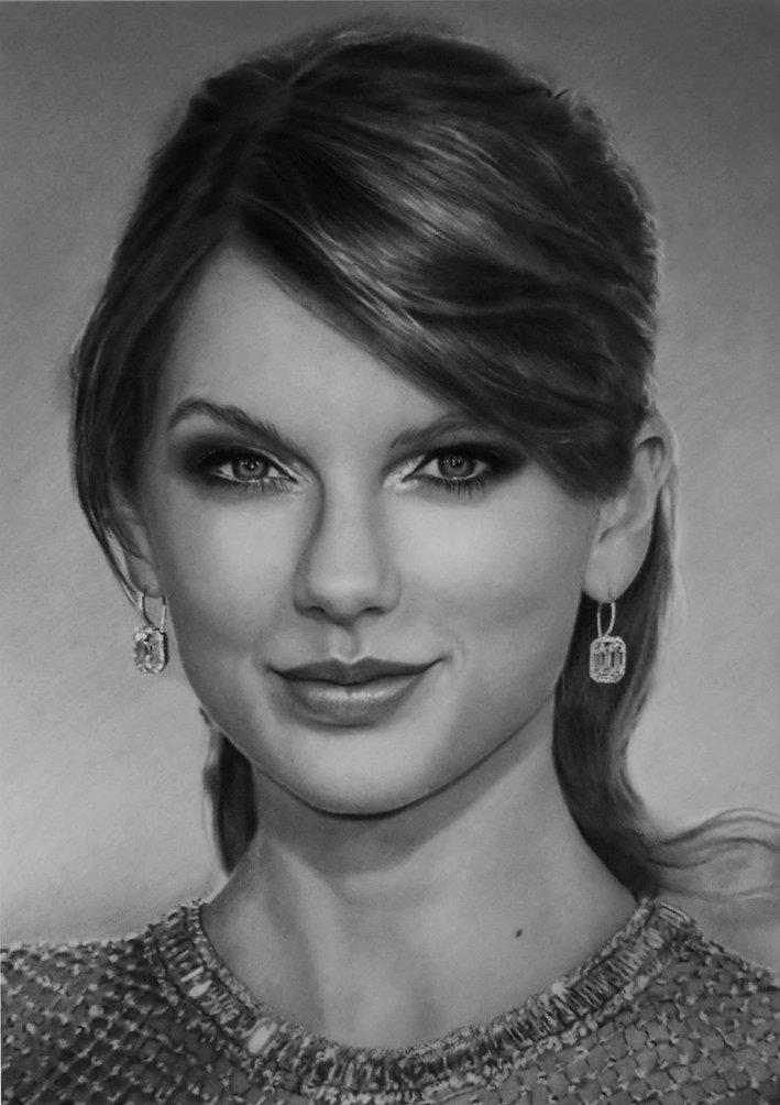 Isrrael Villablanca On Twitter Dibujo A Lápiz De Taylor Swift