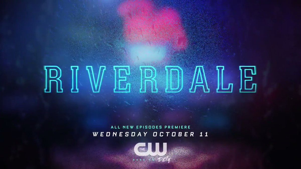 #Riverdale returns 10/11. Are you ready?