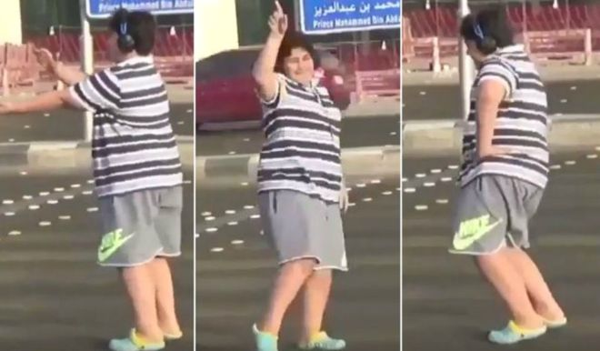 A 14-year-old boy publicly dancing the Macarena is enough to get him arrested in prudish Saudi Arabia. https://t.co/lA2F6pi0KU