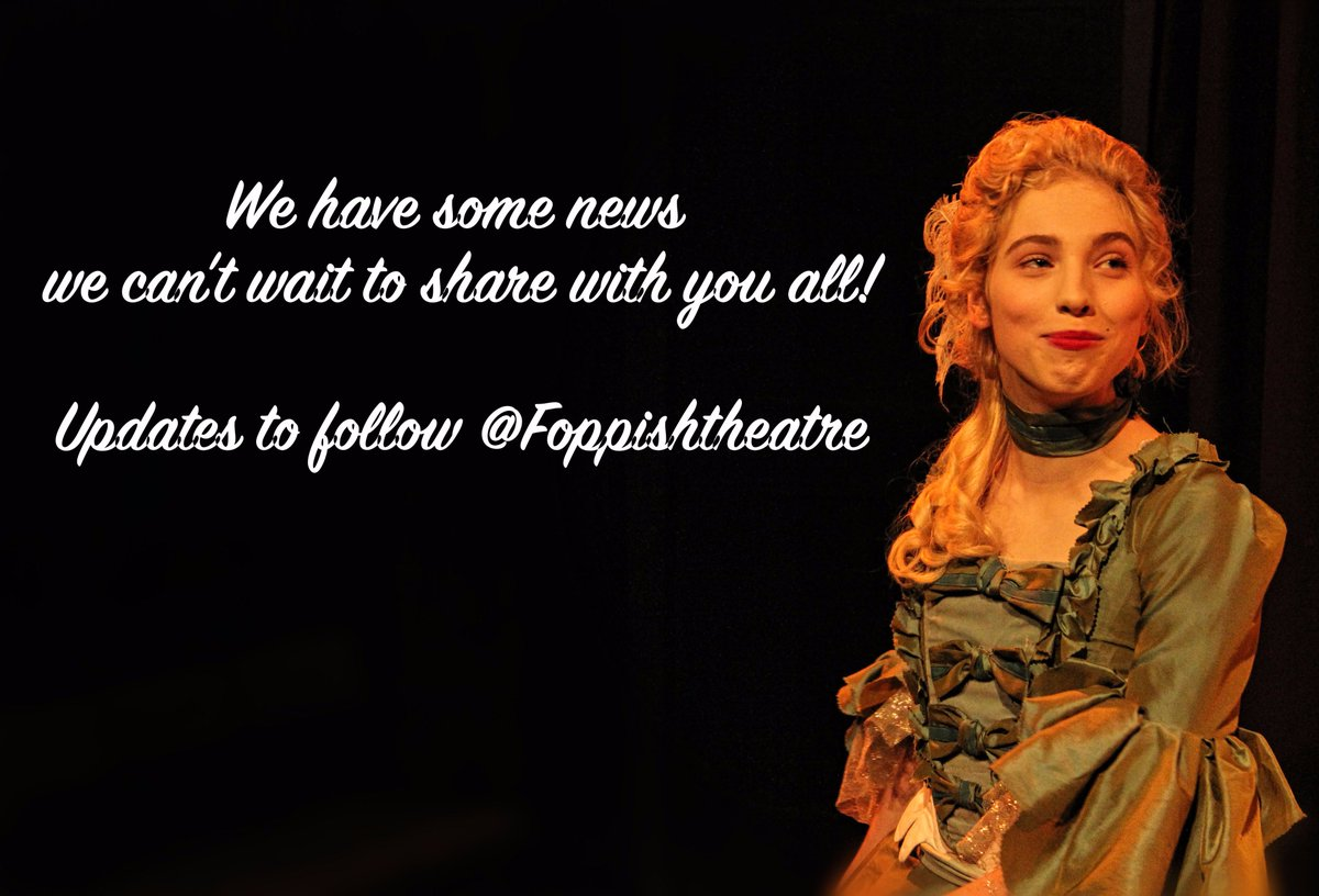 Not that we are teasing you. Big announcement to be made very soon from us here @FoppishTheatre #theatre #performance #news #Announcements<br>http://pic.twitter.com/4NTQpmQwss
