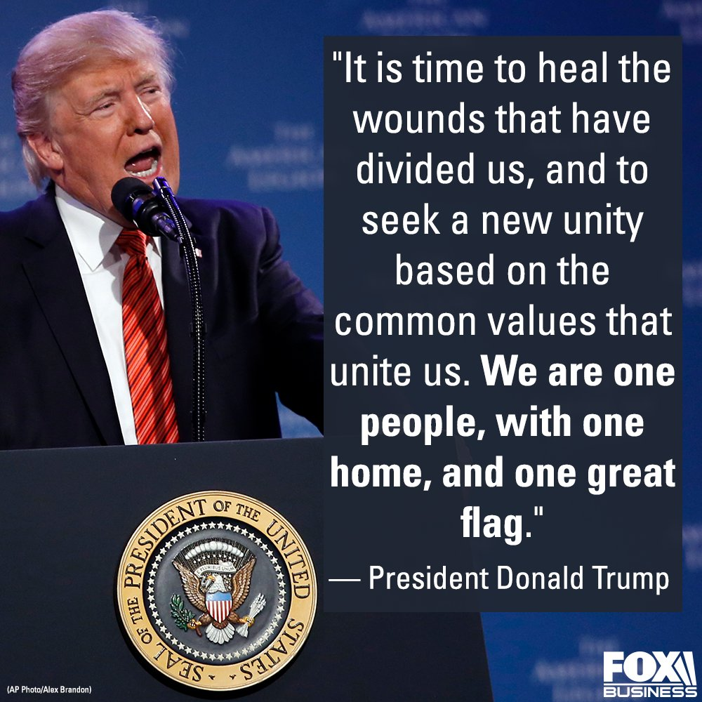.@POTUS delivered this message while making remarks at the American Legion Convention.