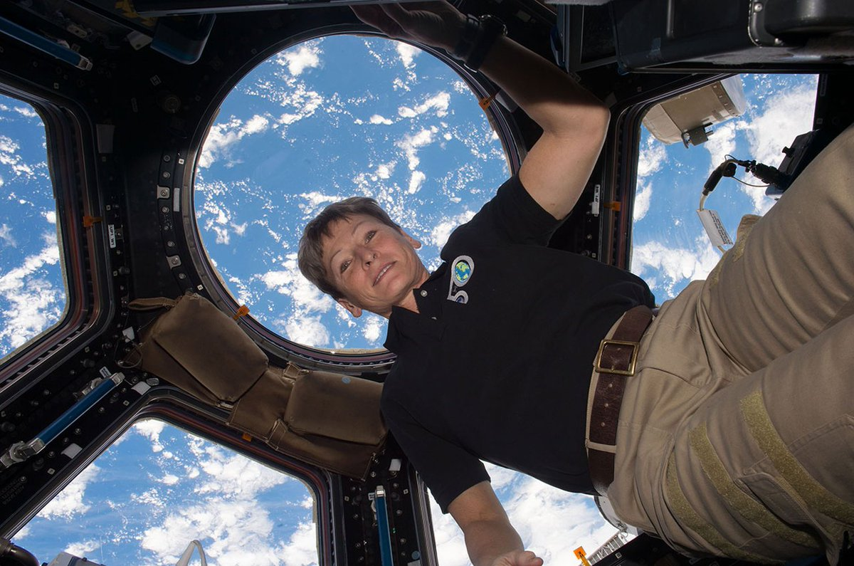 NASA Astronaut Peggy Whitson Honored by 'Makers' as Trailblazing Woman in Space (Video) https://t.co/CFZEVnWOw0