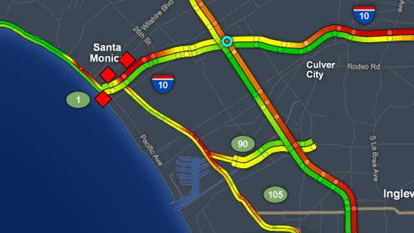 #BREAKINGNEWS: WB 10 Fwy, NB Pacific Coast Highway in Santa Monica closed after pedestrian is fatally struck  http:// abc7.la/2w3FKTC  &nbsp;  <br>http://pic.twitter.com/FXGxsxAEhD