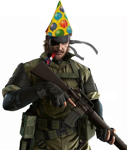 Happy Birthday, Mr. Kojima!