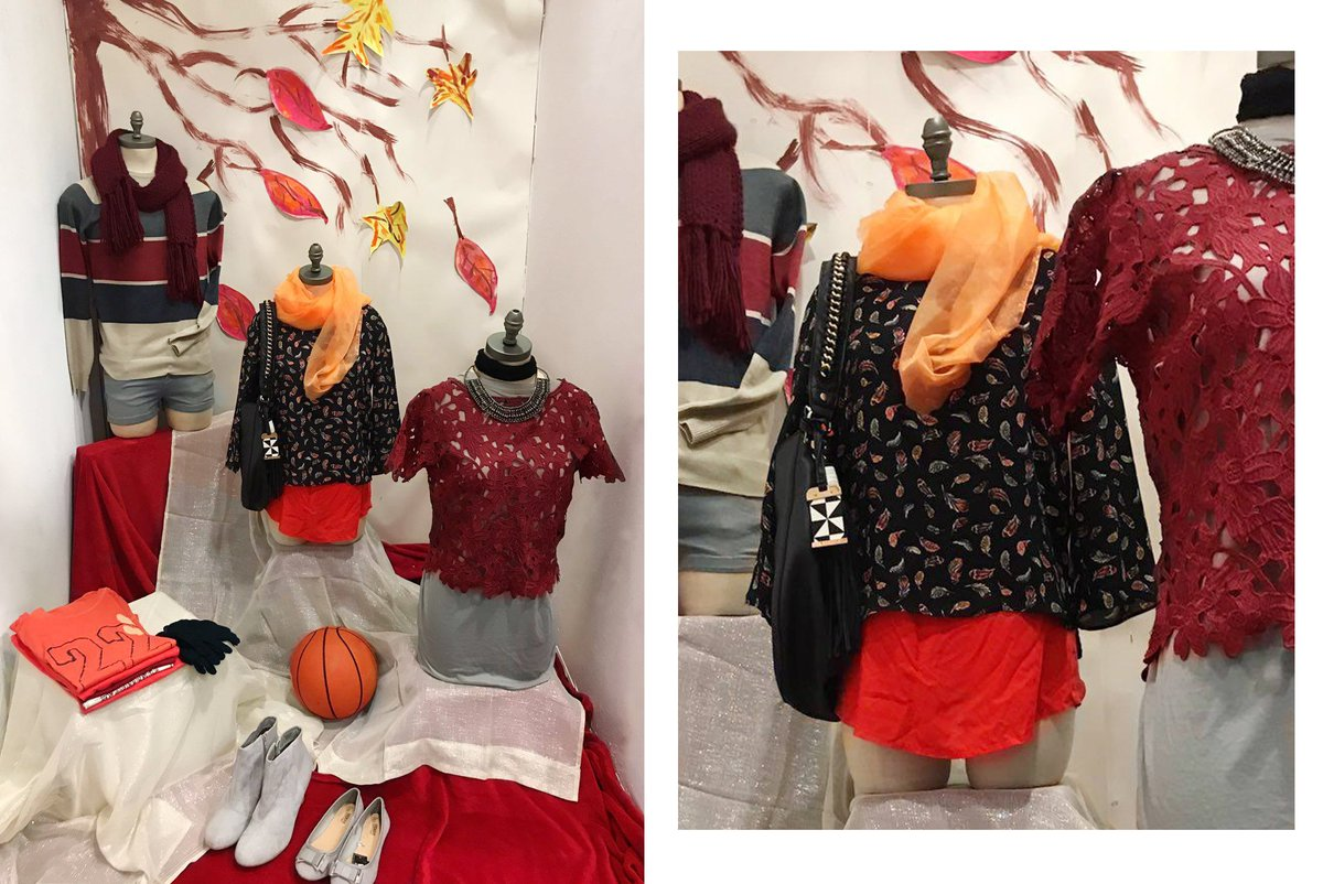 test Twitter Media - #VisualMerchandising Course Day 2 - Our learners are Autumn ready with this orange and burgundy coloured display https://t.co/YSqAtZ2jRC https://t.co/aGwD4PtSAe