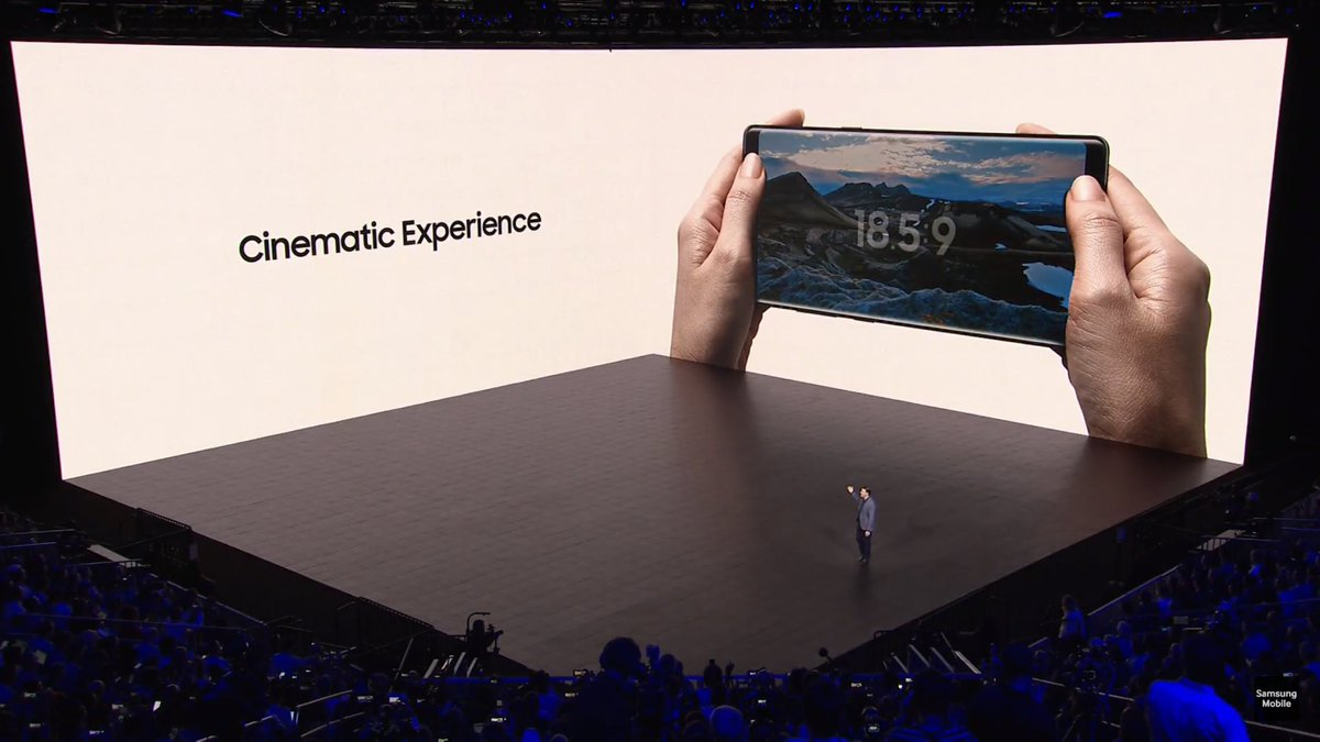 #SamsungUnpacked #Note8 @BT_India cinematic experience https://t.co/yJ5MkCEKYy