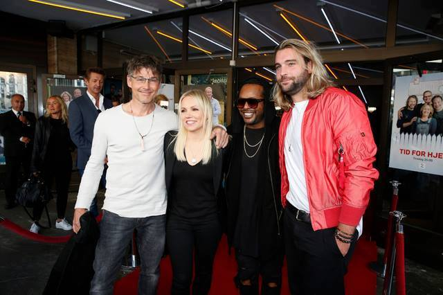 The mentors of @TheVoiceNorge of this year @mortenharket @aha_com Lene Marlin @MadconOfficial and @CLMDmusic #thevoicenorge #norway <br>http://pic.twitter.com/wYgYVFwjsJ