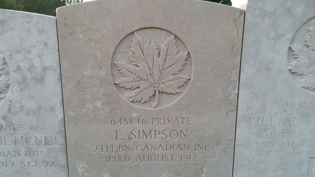 #PicOfTheDay Today we remember our grt grt uncle. He sacrificed his today for our tomorrow in the battle for #Hill70 #Canada #Lens #France <br>http://pic.twitter.com/ceK4K4ZGDY