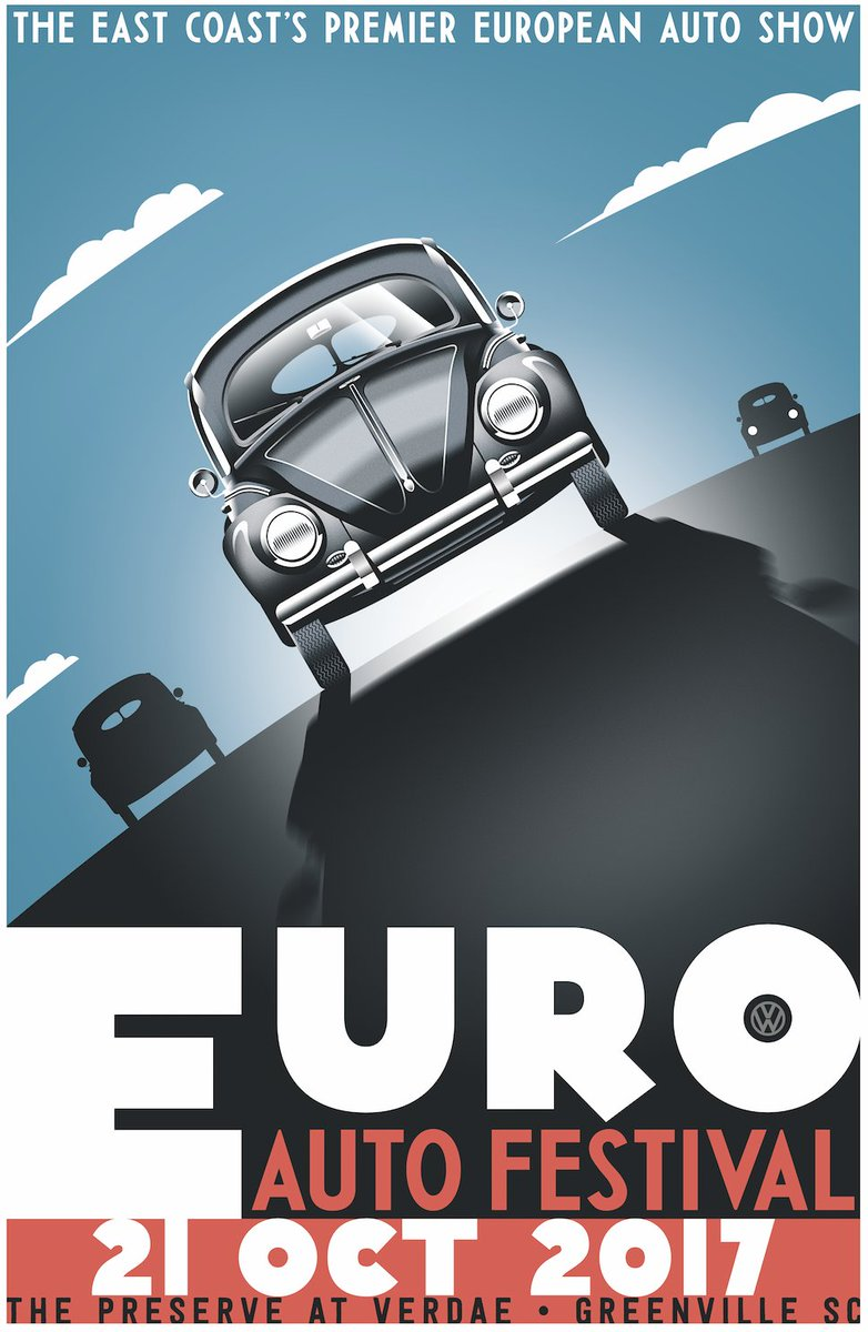 Euro Auto Festival On Twitter Here It Is The 2017 Euro Poster