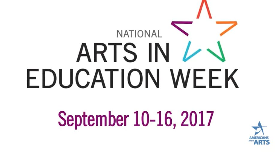 Image result for national arts in education week 2017