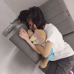 今日撮れた寝顔たち😴可愛い。#佐藤美波 #長友彩海 #田口愛佳 pic.twitter.com/32…