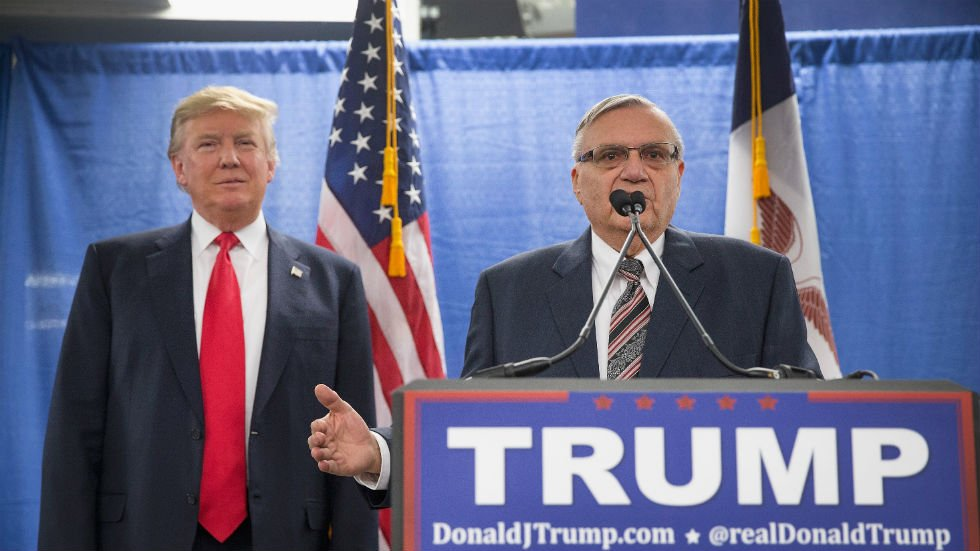JUST IN: White House has paperwork ready for Trump to pardon 'Sheriff Joe' Arpaio: report https://t.co/F9pDyXc6Nh