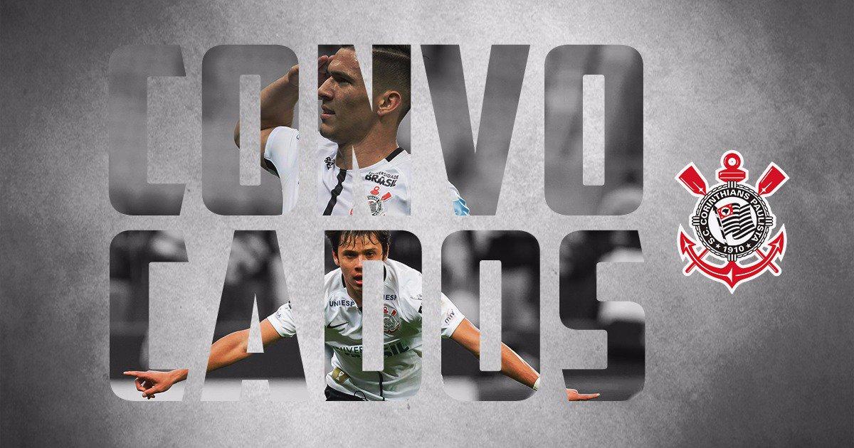 Nesta quarta, Romero e Balbuena foram convocados para a seleção paraguaia! Parabéns para a dupla do #Timão!  Parabéns!  #VaiCorinthians